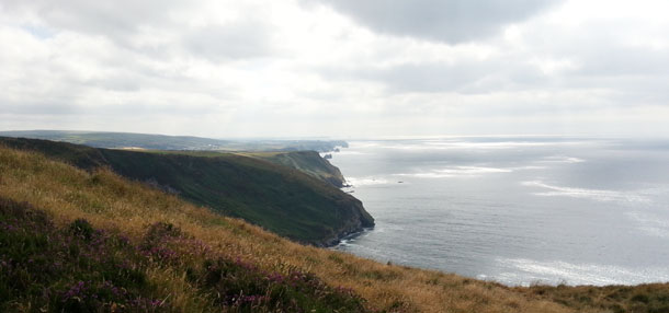 View from Beeny Cliff