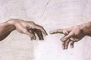 Michaelangelo's finger