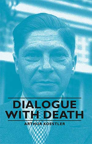 Koestler portrayed on the cover of the book